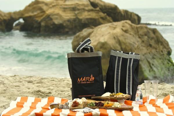 Maro's picnic to go.